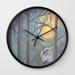 Alone in the dark Wall Clock