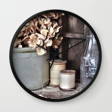 Vintage Vignette Wall Clock