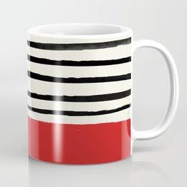 Red Chili x Stripes Coffee Mug