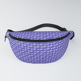 Blue spheres texture Fanny Pack