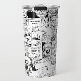 angry bakugou collage Travel Mug