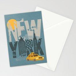 New York! New York! Stationery Cards