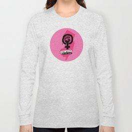 riot grrrl book club Long Sleeve T-shirt