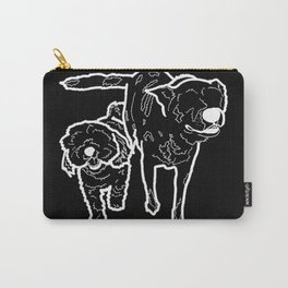 BFFs: Nash & Kia (Black Background) Carry-All Pouch