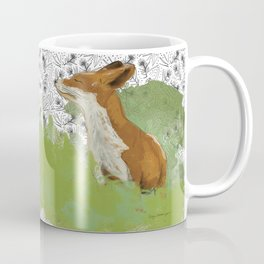 Sunning Fox Coffee Mug