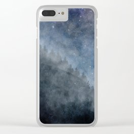 enjoy the silence Clear iPhone Case