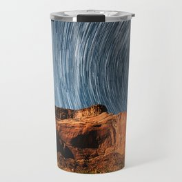 Stars on the Cliffside Travel Mug