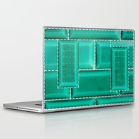 architecture Laptop & iPad Skins featuring ARCHITECTURE by BIGEHIBI