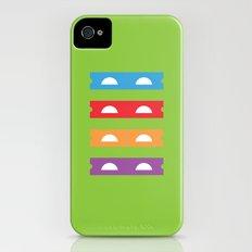 Teenage Minimal Ninja Turtles Slim Case iPhone (4, 4s)