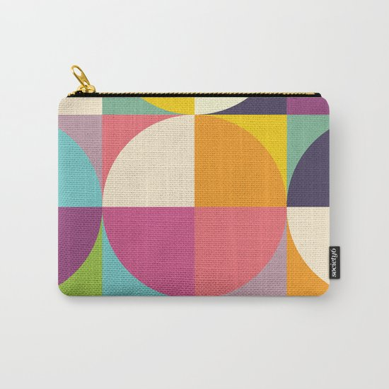 Quarters Quilt 4 Carry-All Pouch