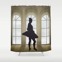 ballet Shower Curtains featuring Ballet by Design4u Studio