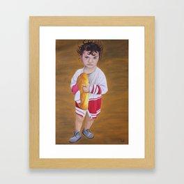The survival Framed Art Print
