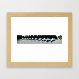 26/ Sunday Driver by Josie Churchill Framed Art Print