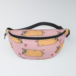 Rub My Belly Pug Fanny Pack