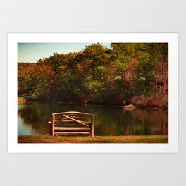 Fall shows us how beautiful it is to let things go Art Print