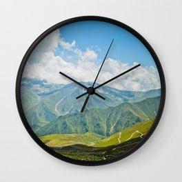 Mountains of Kashmir Wall Clock