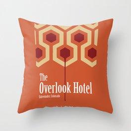 The Overlook Hotel Throw Pillow