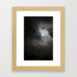 Witchcrafts Moon Framed Art Print