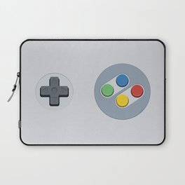 Super Nintendo - Buttons Laptop Sleeve