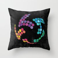 globe Throw Pillows featuring Globe by Last Call