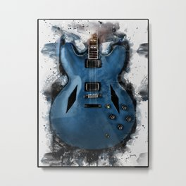 Dave Grohl's electric guitar Metal Print