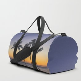 Palm Trees w/ Ombre Tropical Sunset - Hawaii Duffle Bag