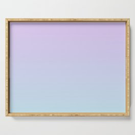 Pastel Ultra Violet Mint Gradient Serving Tray
