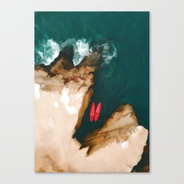 Top view Canvas Print