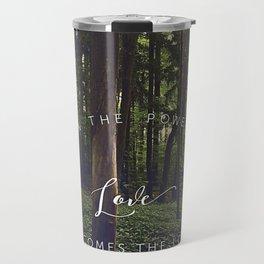 Peace and Love Travel Mug