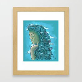 Siren of the Seas Framed Art Print