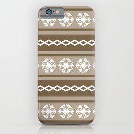 Christmas pattern 6 iPhone Case