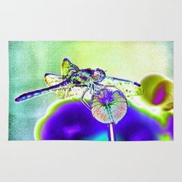 DRAGONFLY BLUE Rug