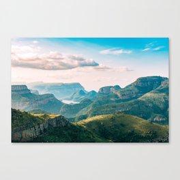 Scenic Mountain Landscape Photo Canvas Print