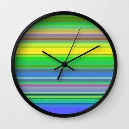 Striped 3 Wall Clock