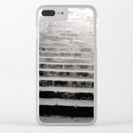 Ancient Greece Black & White Travel Photograph Clear iPhone Case