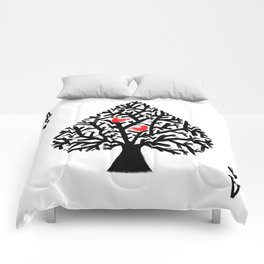 Ace of spade Comforters