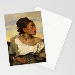 "Eugène Delacroix ""Jeune orpheline au cimetière (The Orphan Girl at the cemetery)"" Stationery Cards"