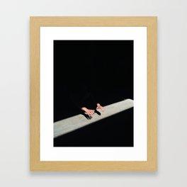 Shadows and Light Framed Art Print