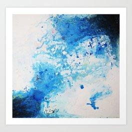 Abstract Art Secret Sea Art Print