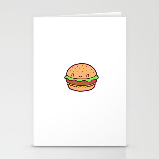 Happy Burger Stationery Cards