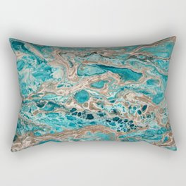 Beach Shallows 6 Rectangular Pillow