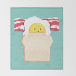 Morning Breakfast Throw Blanket