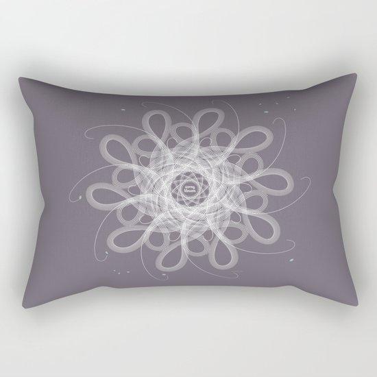 Ornament - Stormy Blossom Rectangular Pillow
