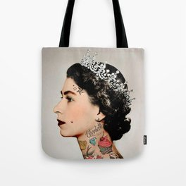 Rebel Queen Tote Bag