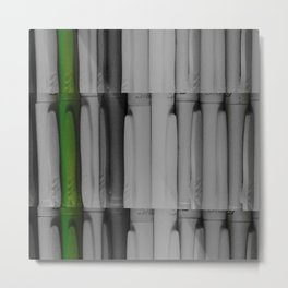Bic Bamboo Metal Print