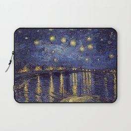 Vincent Van Gogh Starry Night Over The Rhone Laptop Sleeve