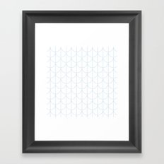 Water Ripples by Friztin Framed Art Print