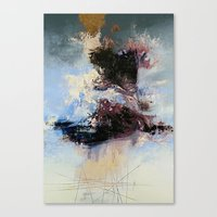 psychology Canvas Prints featuring CATHARTIC by THE USUAL DESIGNERS