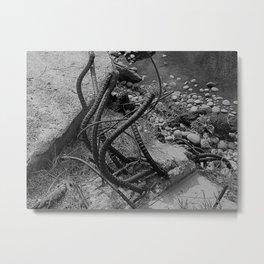 Metal Tentacles Metal Print