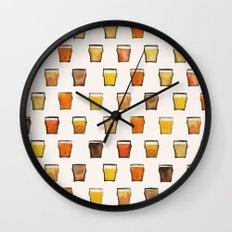 Day 042, Year 1   #margotsdailypattern Wall Clock